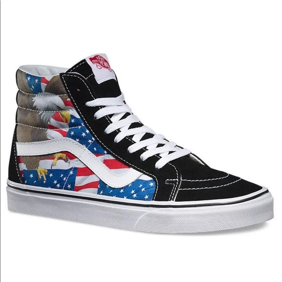 592a8be3c3 Vans Men s Sk8 Hi Reissue Free Bird Skate Shoes